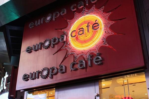 europa cafe times square MPVNY