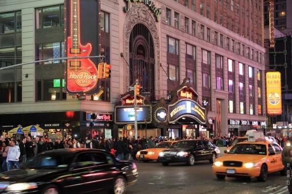 hard Rock cafe times square MPVNY 2