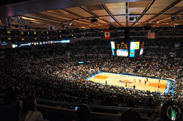 madison square garden Knicks
