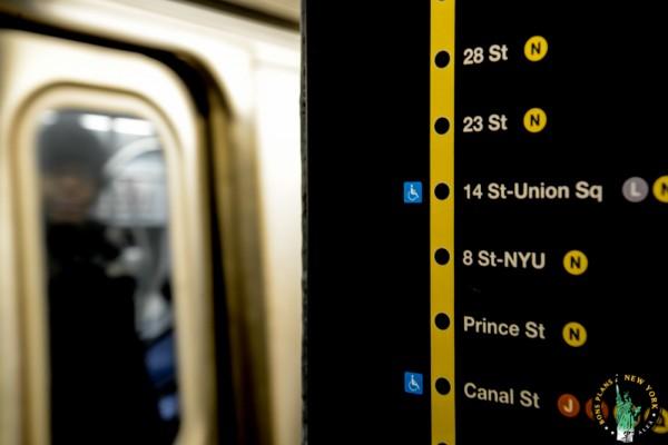 Línea metro NYC MPVNY