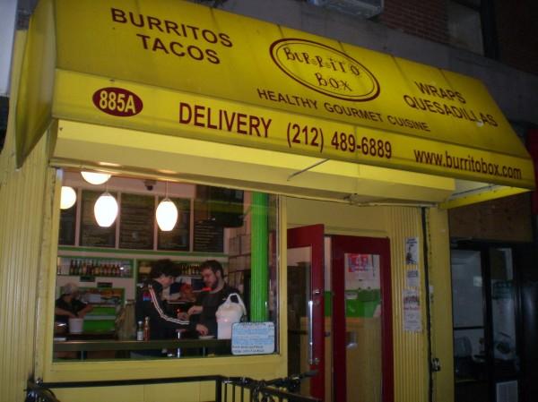 Burrito box MPVNY