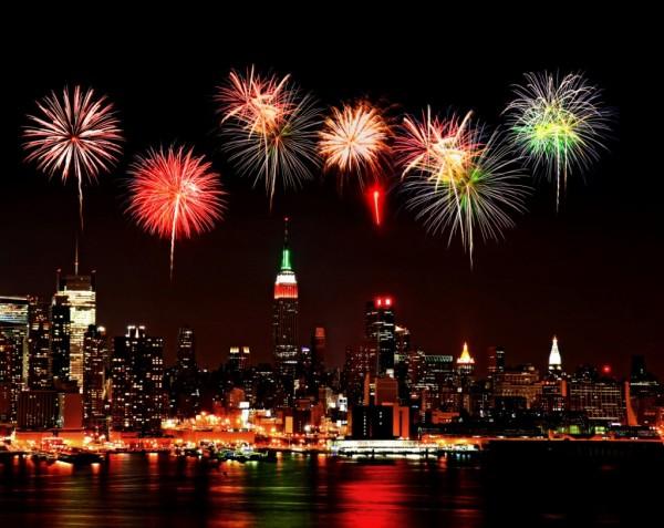 fuegos artificiales nochevieja 2013 Nueva York MPVNY
