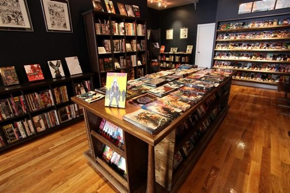 Bergen Street Comics MPVNY
