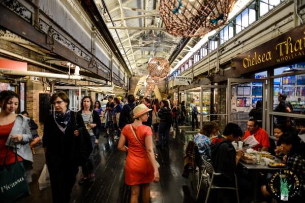 Chelsea Market Nueva Work MPVNY paseo