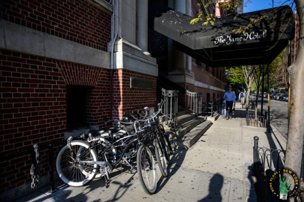 The Jane Hotel bicicleta MPVNY Nueva York