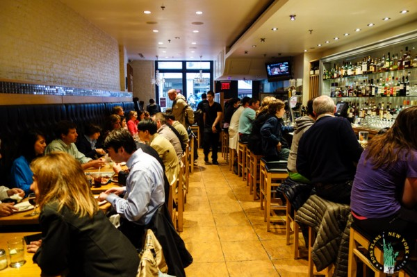 adrienne's pizzabar Nueva York MPVNY comedor