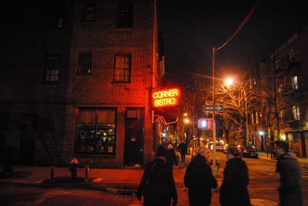Bistro fuera en la calle MPVNY NY