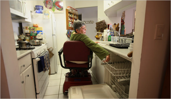 cocina silla de rueda Nueva York MPVNY