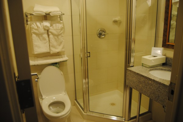 comfort inn times square west MPVNY cuarto de baño