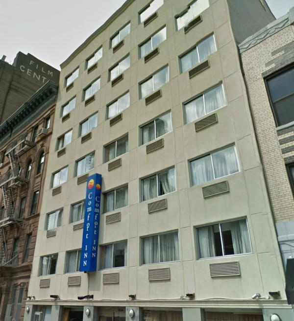 comfort inn times square west MPVNY