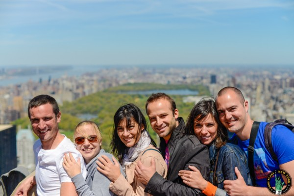 nueva york grupo top of the rock MPVNY