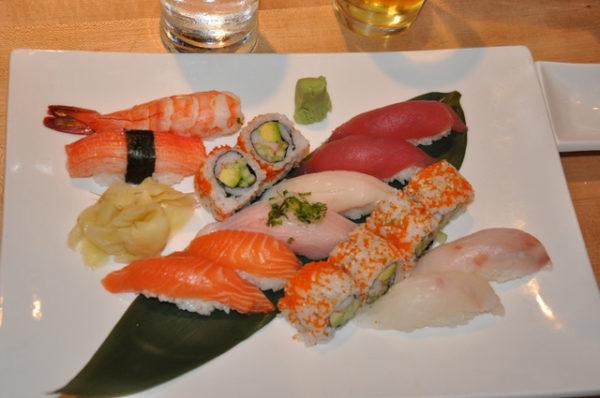 Jebon Nueva York comida asiática sushis deluxe
