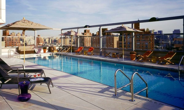Gansevoort Meatpacking pool