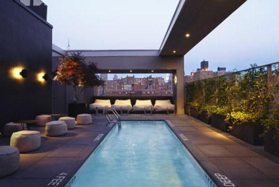 Hotel Americano pool