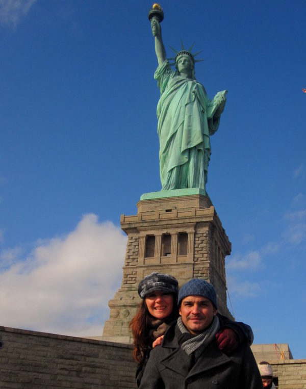Carina y Mariano Siempre New York Tours