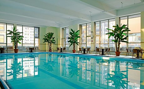 Sheraton Manhattan pool
