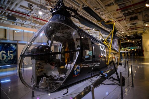 The Intrepid Sea, Air & Space Museum 16 hangar deck
