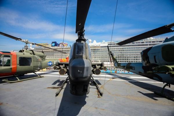 The Intrepid Sea, Air & Space Museum 5 Bell AH-1 Cobra