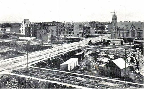 55th Street and Madison Avenue, 1870