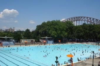piscinas públicas en Nueva York