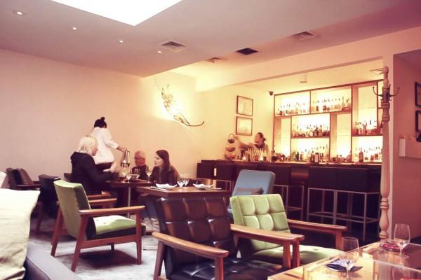 Bohemian Restaurant NY interior