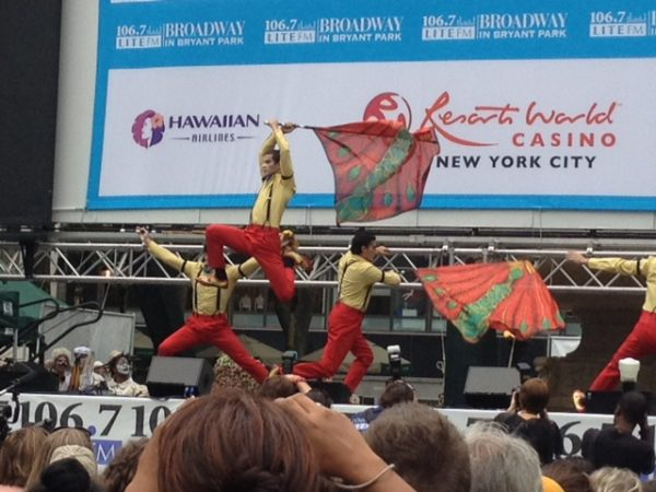 Broadway in Bryant Park 2014 3