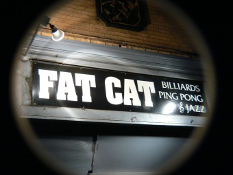 Fat Cat Greenwich Village NY
