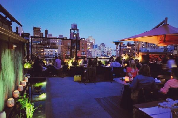 Park South NY rooftop
