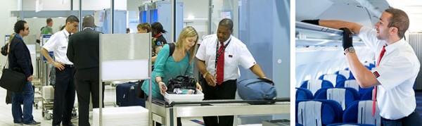 seguridad avión y aeropuerto