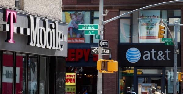 Teléfono móvil en NY 2