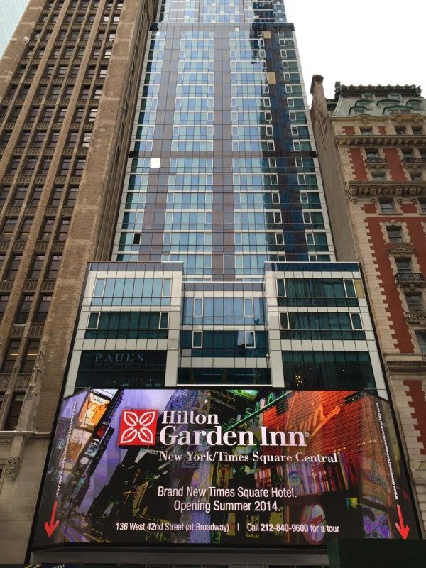 Hotel Hilton Garden Hill Times Square Central MPVNY NYCTT BPVNY 2