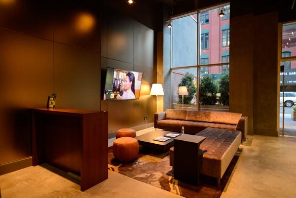 Cambria hotel suites un hotel moderno en chelsea con un for Cuanto cuesta una cama king size